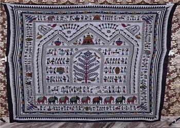 urban mandala tapestry wall hanging Queen tapestry