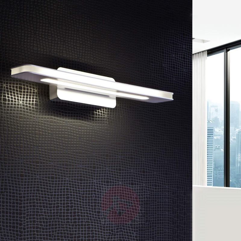 Muriel - modern, white LED wall light - indoor-lighting