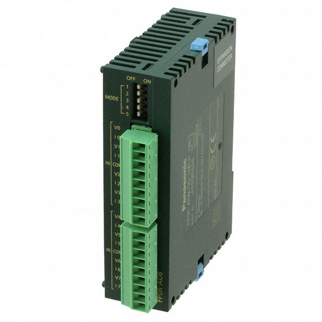 INPUT MODULE 8 ANALOG - Panasonic Industrial Automation Sales AFP0RAD8