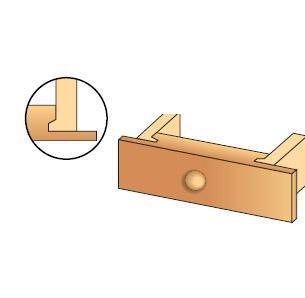 Porte-outils bouvetage de tiroir - null