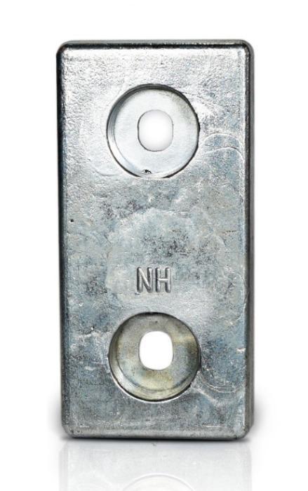Ânodo de zinco para protecção catódica - Ânodos de aparafusar NH18