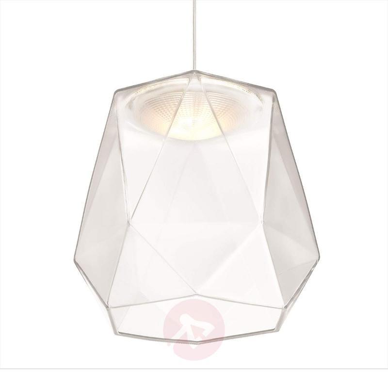 Italo LED Glass Pendant Light Transparent - Pendant Lighting