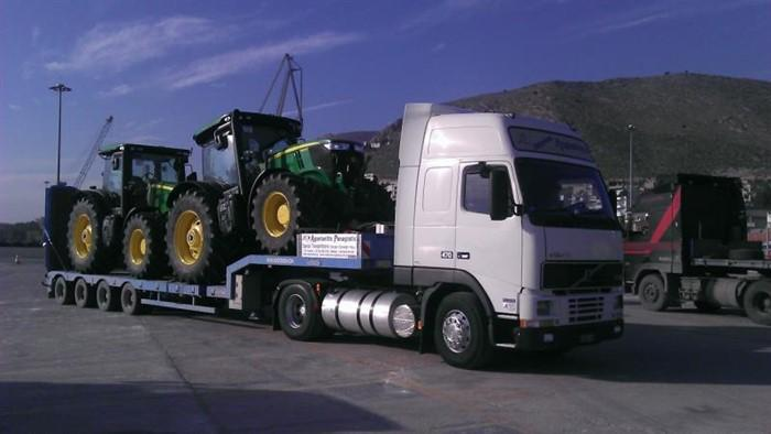 Transport heavy loads - Special Transportations Overweight and Oversize Loads