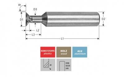 Milling Tools: for plastics