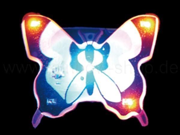 Blinki Blinker lila rosa Motiv: Schmetterling - null