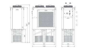 Tcia2÷a7 Grandezza 3 Refrigeratori A Serpentina Immersa - LINEA REFRIGERAZIONE