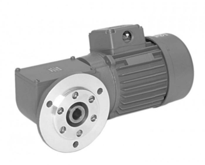 SN12FH - Zweistufiger Getriebemotor mit Hohlwelle