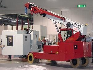 Autogru elettrica GF150