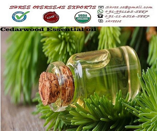 Organic Cedarwood Oil  - USDA Organic