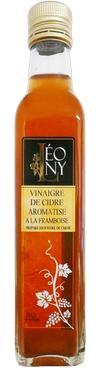 Vinaigre de Cidre BIO Aromatisé à la Framboise  - 5 % d'acidité LEONY