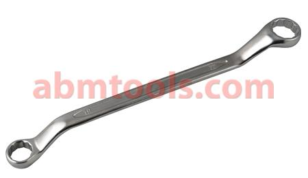 Bi-Hexagonal Ring Spanner - Deep Offset - With offset handles to improve access to the nut or bolt.