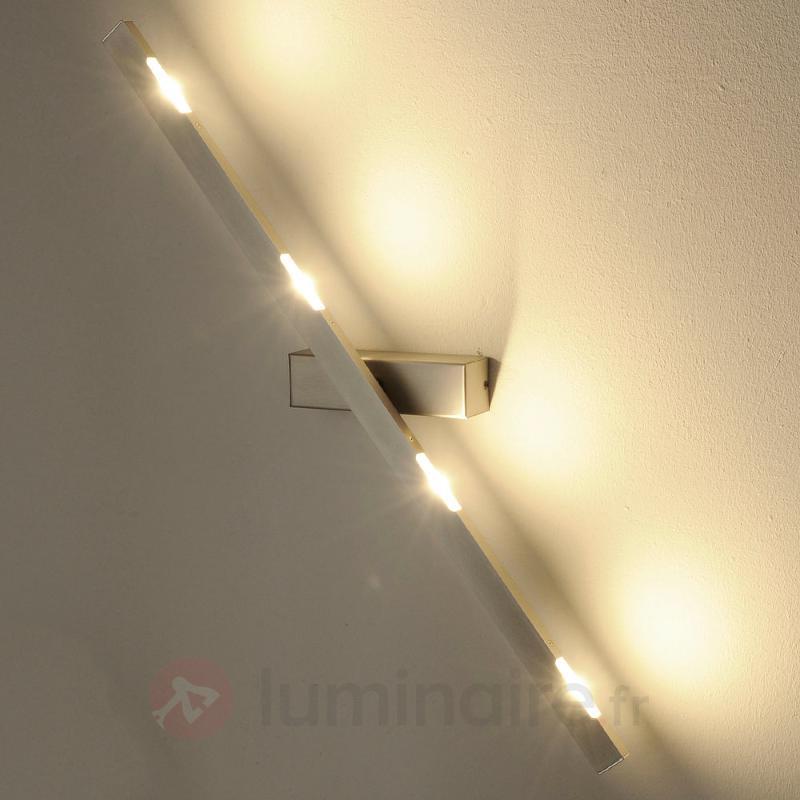 Suspension LED Sina nickel mat 80 cm - Appliques LED