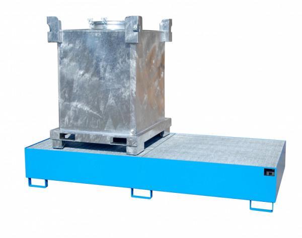 Auffangwanne Typ ECO 2/1000 - Auffangwanne zur Lagerung von 2 x 1000-l-IBC