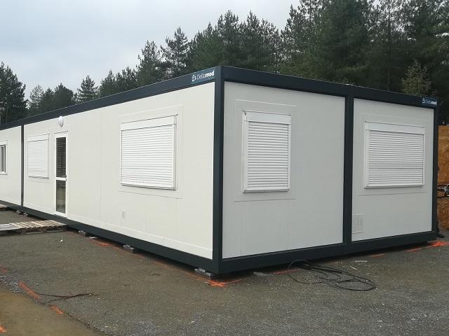 Construction modulaire pour base vie - Modulaire reconditionné ou d'occasion