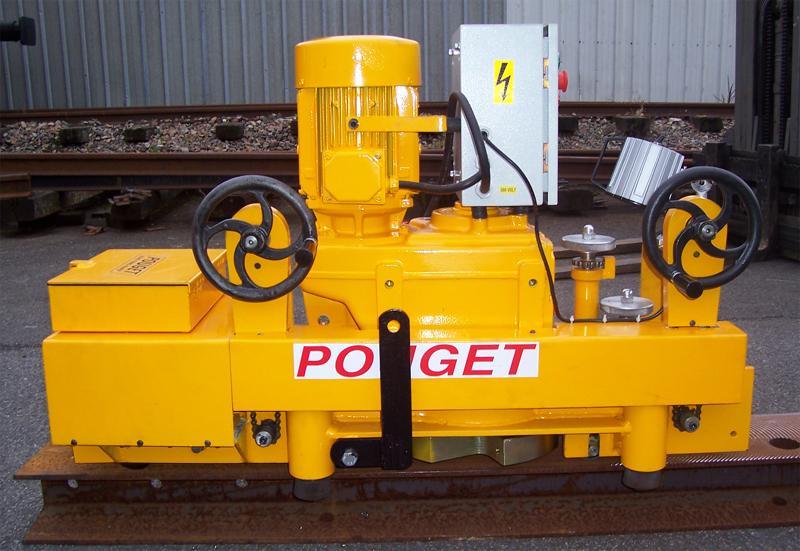 Strieuse Rail-Piste Métro à pneus - null
