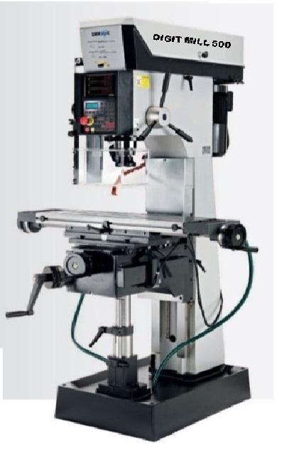 SERRMAC Universal Bohr-Fräsmaschinen DIGIT -  Universal Bohr-Fräsmaschine DIGIT mit 36 Monate Gewährleistung