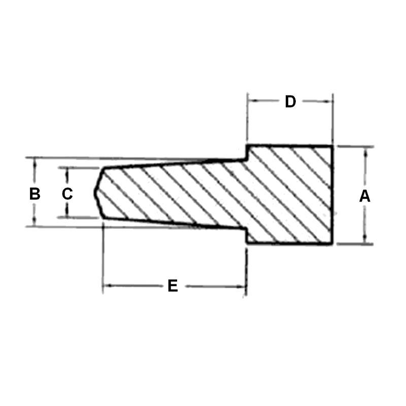 N21C - Bouchons de protection à collerette - Haute Température