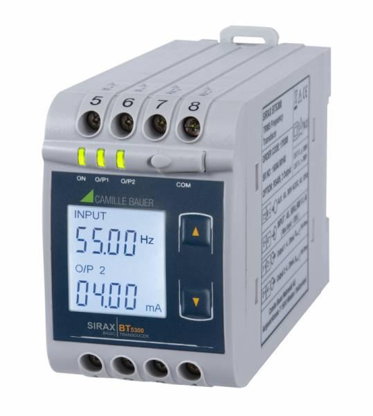 SIRAX BT5300 - Transducer for measuring frequency