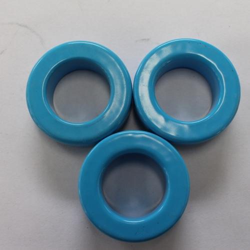 Hierro de alta calidad núcleos de polvo magnético suave HJK1 - Azul, OD * ID * HT (47,63 * 27,89 * 16,13)