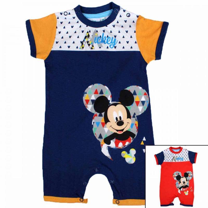 8x Combishorts Mickey du 3 au 18 mois - Vêtement été