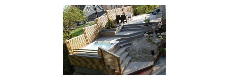 Terrasses - Construction en bois