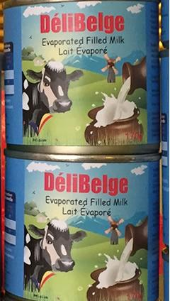 DeliBelge Evaporated Milk