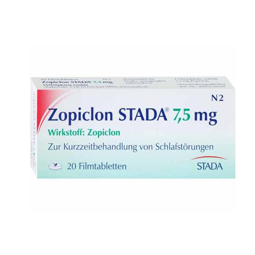 ZOPICLON STADA 7,5 mg - ZOPICLON STADA 7,5 mg Filmtabletten in unserem Shop kaufen!