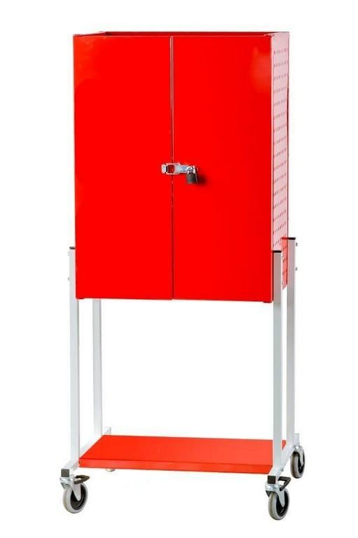 Metal warehouse tool cabinet - null