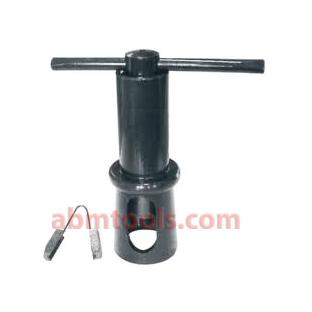 Self Aligning Tap & Reamer Holder - Base of guide has two 120° Vees, which accepts round parts