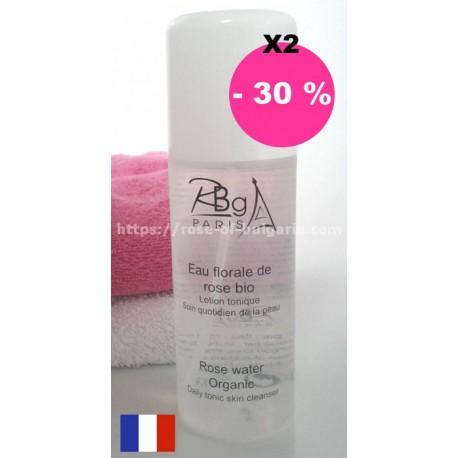 Eau de rose 200 ml spray Rbg Paris lot de 2 - Promotions