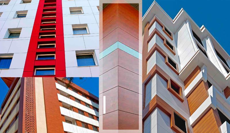 Plaques de revêtement  - Grands Immeubles