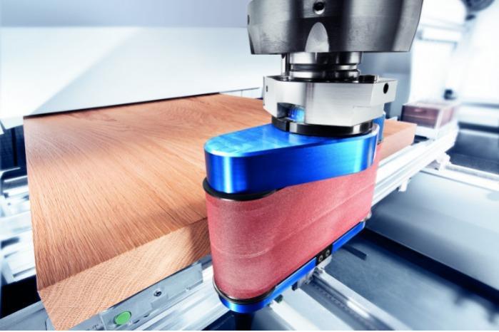 Bandschleifaggregat COLLEVO+ - CNC Aggregat zur Bearbeitung von Holz, Verbundwerkstoff und Aluminium