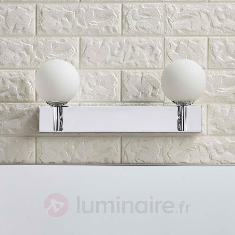 Applique de salle de bain à 2 lampes LED Florijon - Salle de bains et miroirs