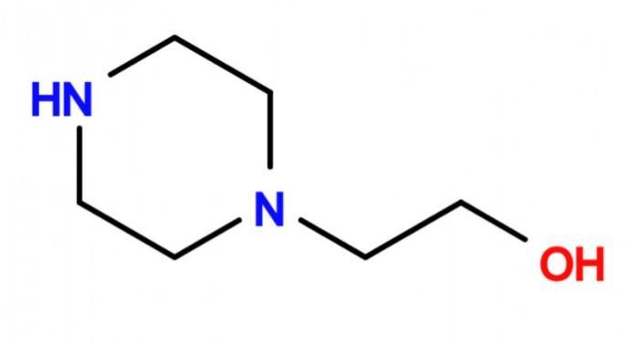 1-Piperazinoethanol - 103-76-4; Building Block de acetofenazina, carfenazina, cetirizina, clopentixol