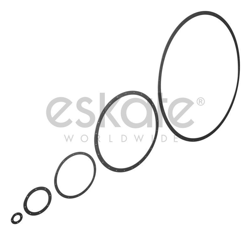 Flachflansch nach DIN24154 - Flachflansche nach DIN24154 (Reihe 1-5) für luftttechnische Anlagen