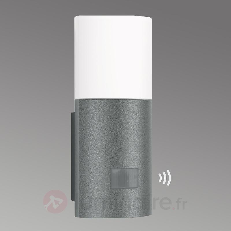 Applique ext. LED à capteur L900, anthracite - Appliques d'extérieur avec détecteur
