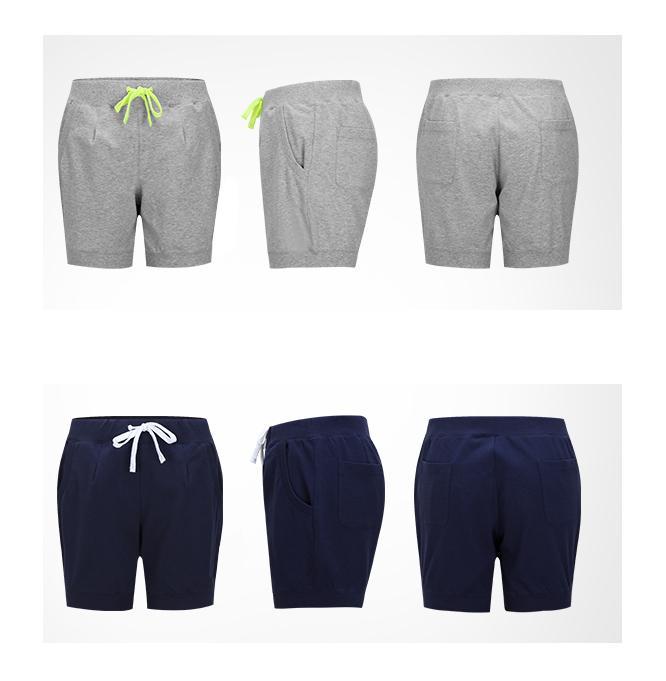 Women's printed sport shorts - short pants for women