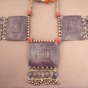 Colliers - Argent et émail, Pakistan