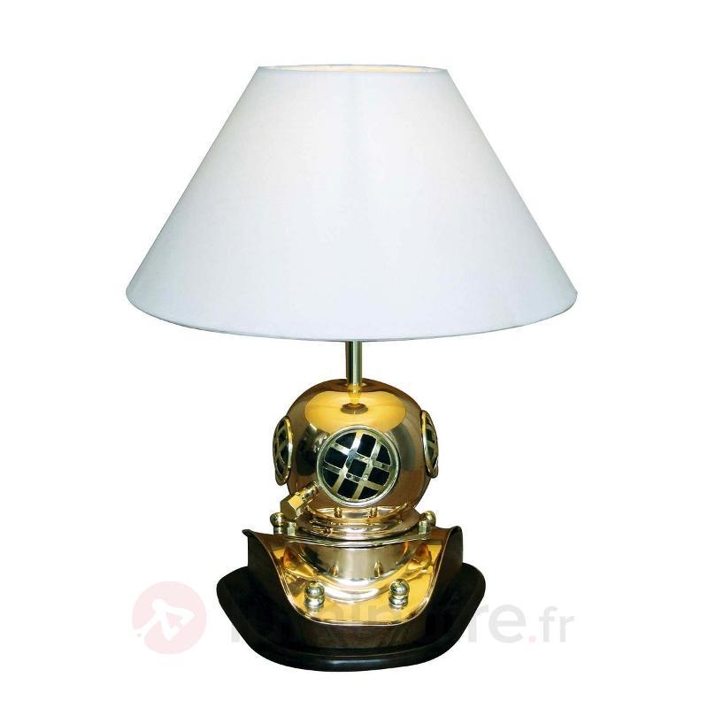 Lampe à poser HERITAGE unique bois - Lampes à poser en bois