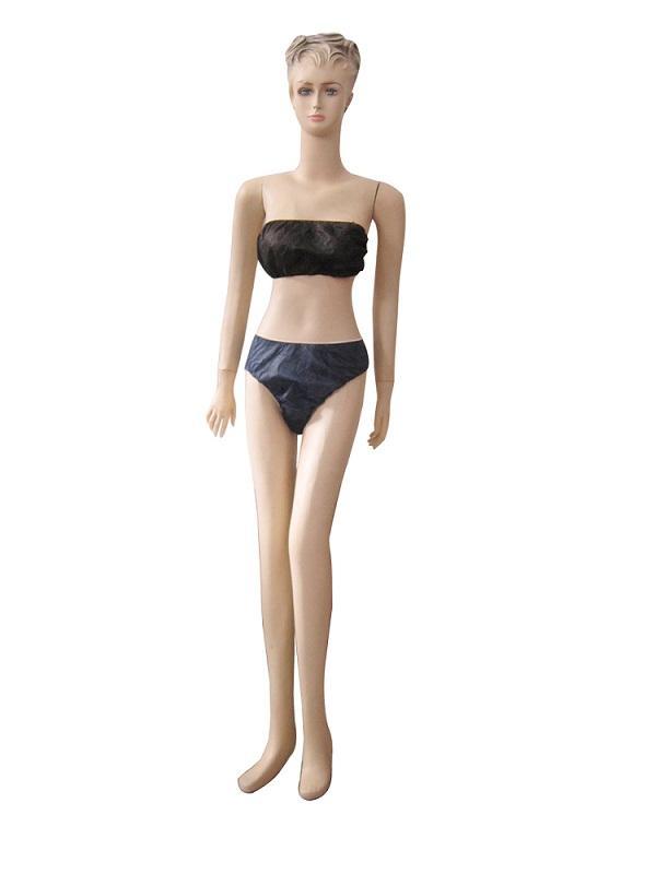 Lady bar et pantalon - Matériel: Non-tissé de pp Couleur: Bleu foncé / noir Poids: 25gsm-45gsm Taille: