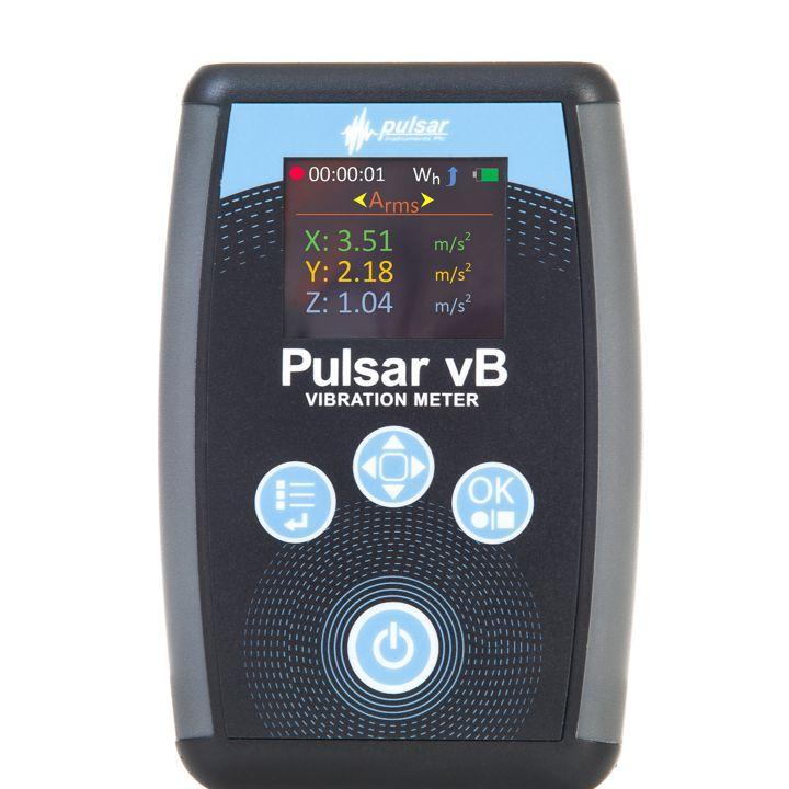 Vibration meters - Pulsar vB Hand arm vibration meter