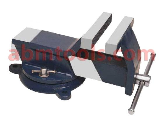 Bench Vice All Steel - Swivel Base - Vices are fabricated from special steel for mounting on work  table, for general