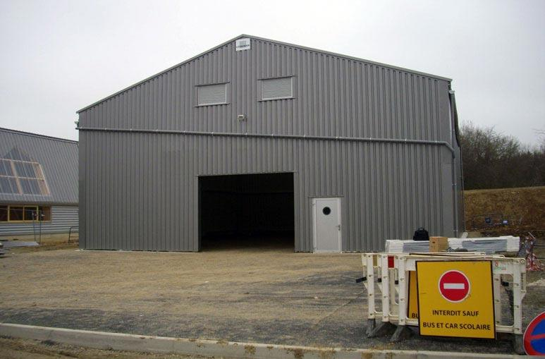 Atelier municipal - Systèmes de construction démontable - Constructions industrielles