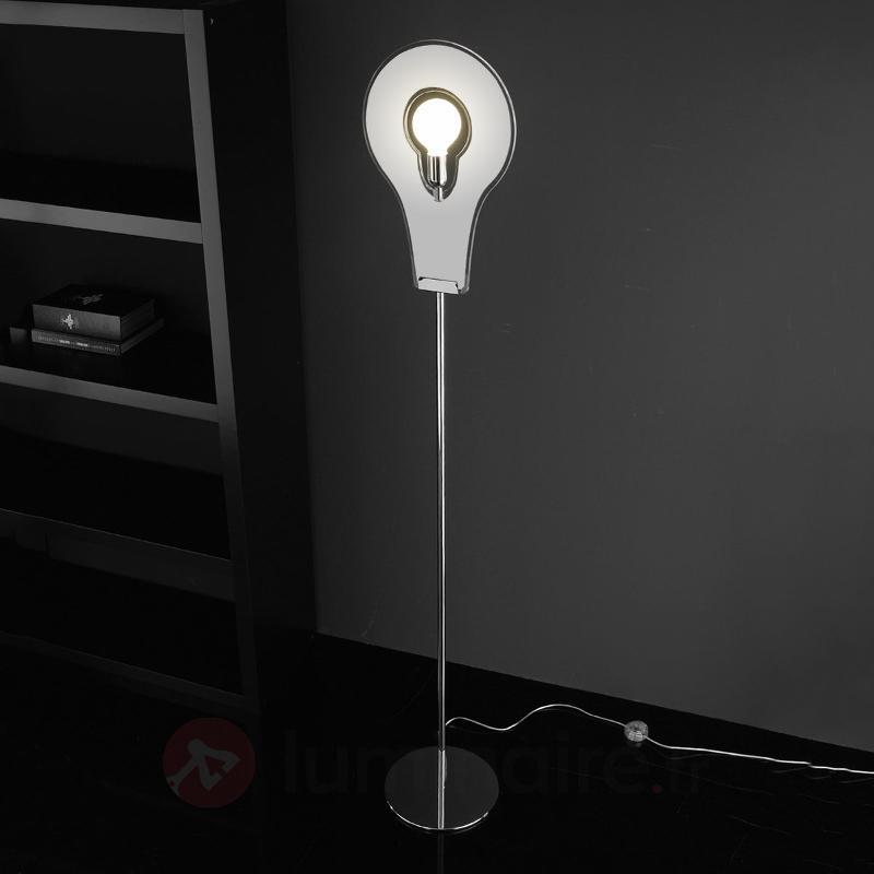 Extraordinaire lampadaire Flat - Lampadaires design