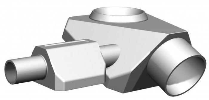 SISTO-CBAV vanne à membrane aseptique, corps forgé; PN16 - Vanne fond de cuve, 1.4435, embout à souder/Clamp, membrane encastrée