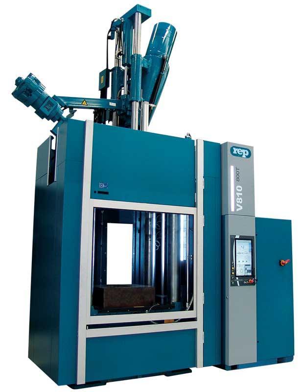 Presses à injecter le caoutchouc verticales - Modèle V810 Extended - 8 200kN