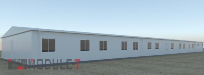 Prefabricated Accommodation Building - PREFABRICATED ACCOMMODATION BUILDING