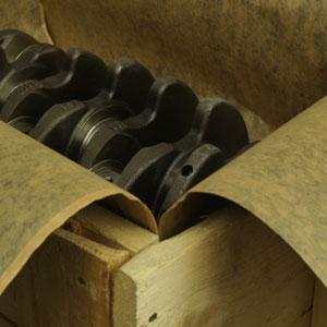 Papel asfalto para tapizar  las cajas Madera - PAPELES DE PROTECCIÓN