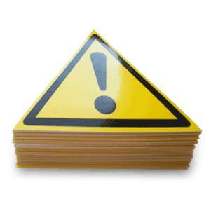 Предупреждающие знаки безопасности -