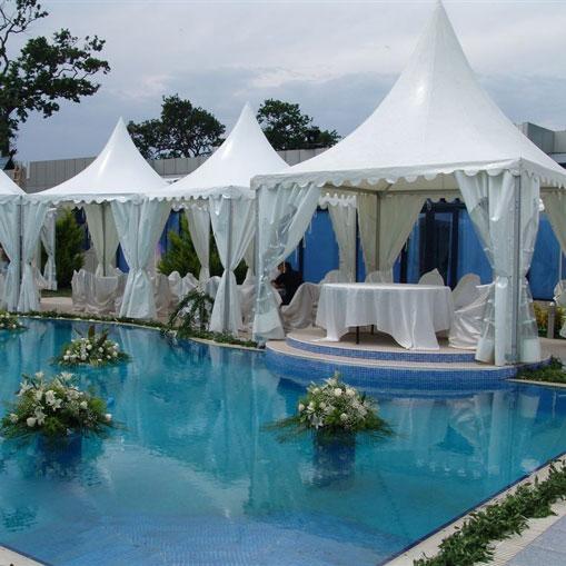 Tentes de réception et tentes pagodes - Systèmes de construction démontable - Tentes évènementielles